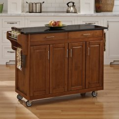 Home Styles Kitchen Cart Gifts Large Create A Island Walmart Com
