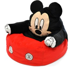 Bean Bag Chair For Toddler Cool Office Chairs Mickey Mouse Character Figural Walmart Com