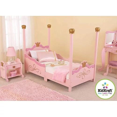 kidkraft princess toddler bedroom collection
