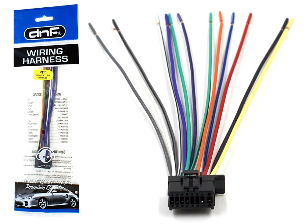 medium resolution of wiring for pioneer