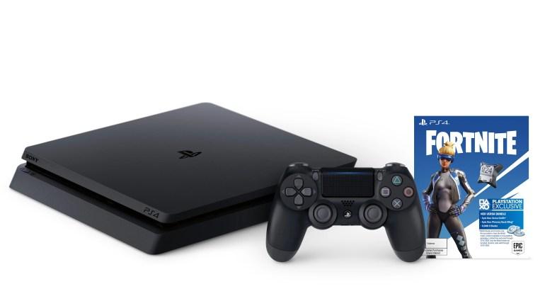 Sony PlayStation Slim 1TB Fortnite Neo Versa PS4 Bundle