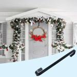 Christmas Front Door Wreath Hanger Sturdy Metal Hook Walmart Com Walmart Com