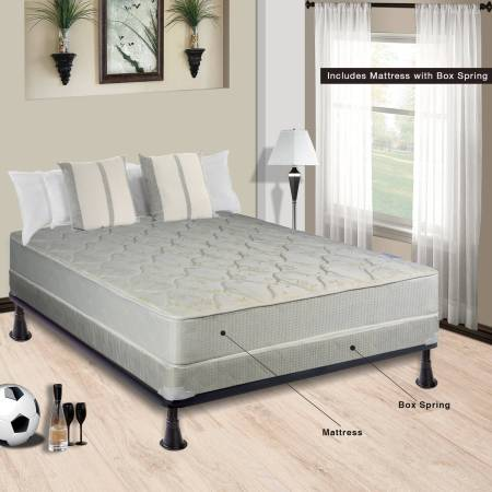 Continental Sleep Mattress 8 Fully Assembled Orthopedic With 5 Box Spring