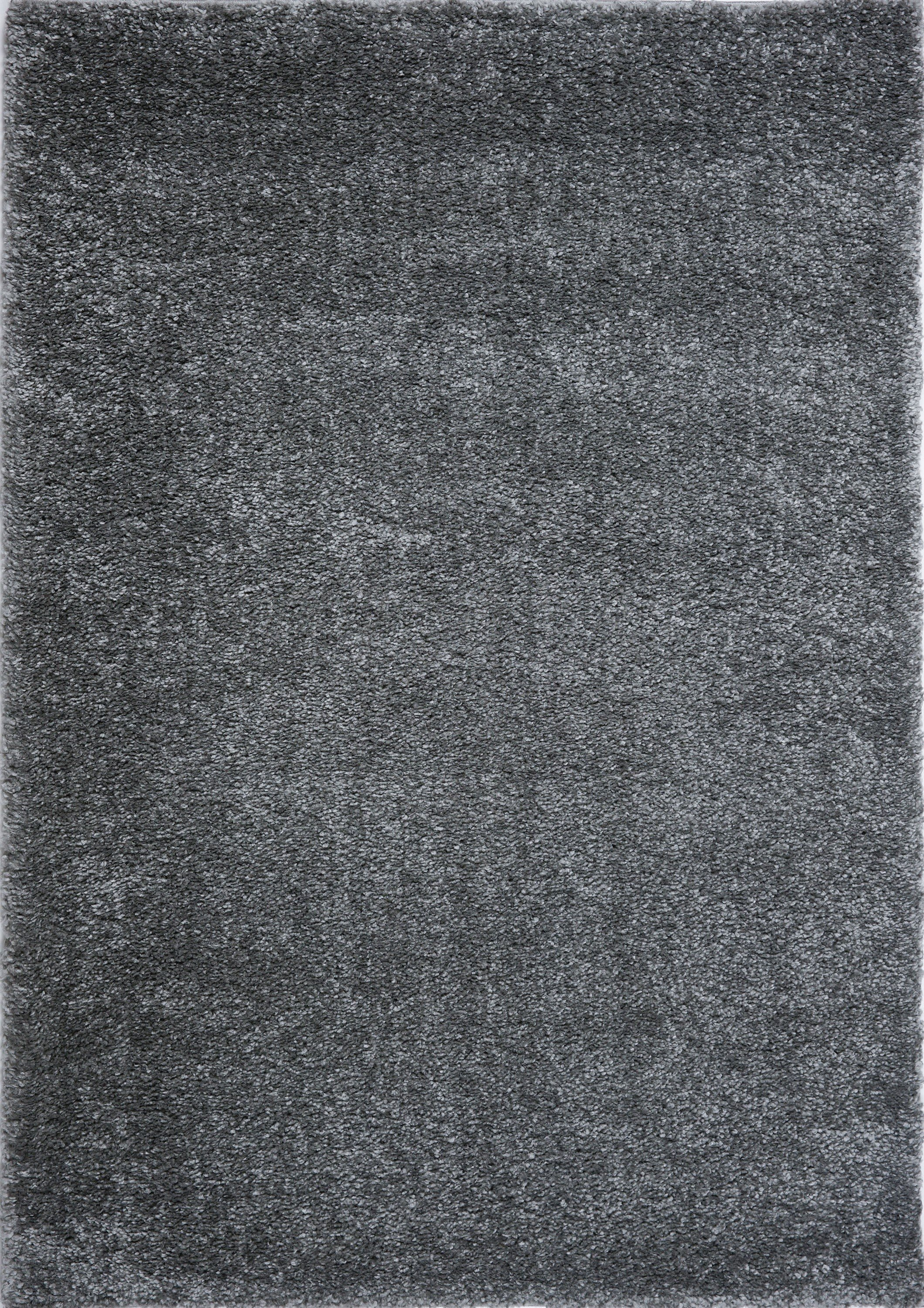ladole rugs soft plush smooth solid plain color modern durable area rug carpet for living room bedroom in grey