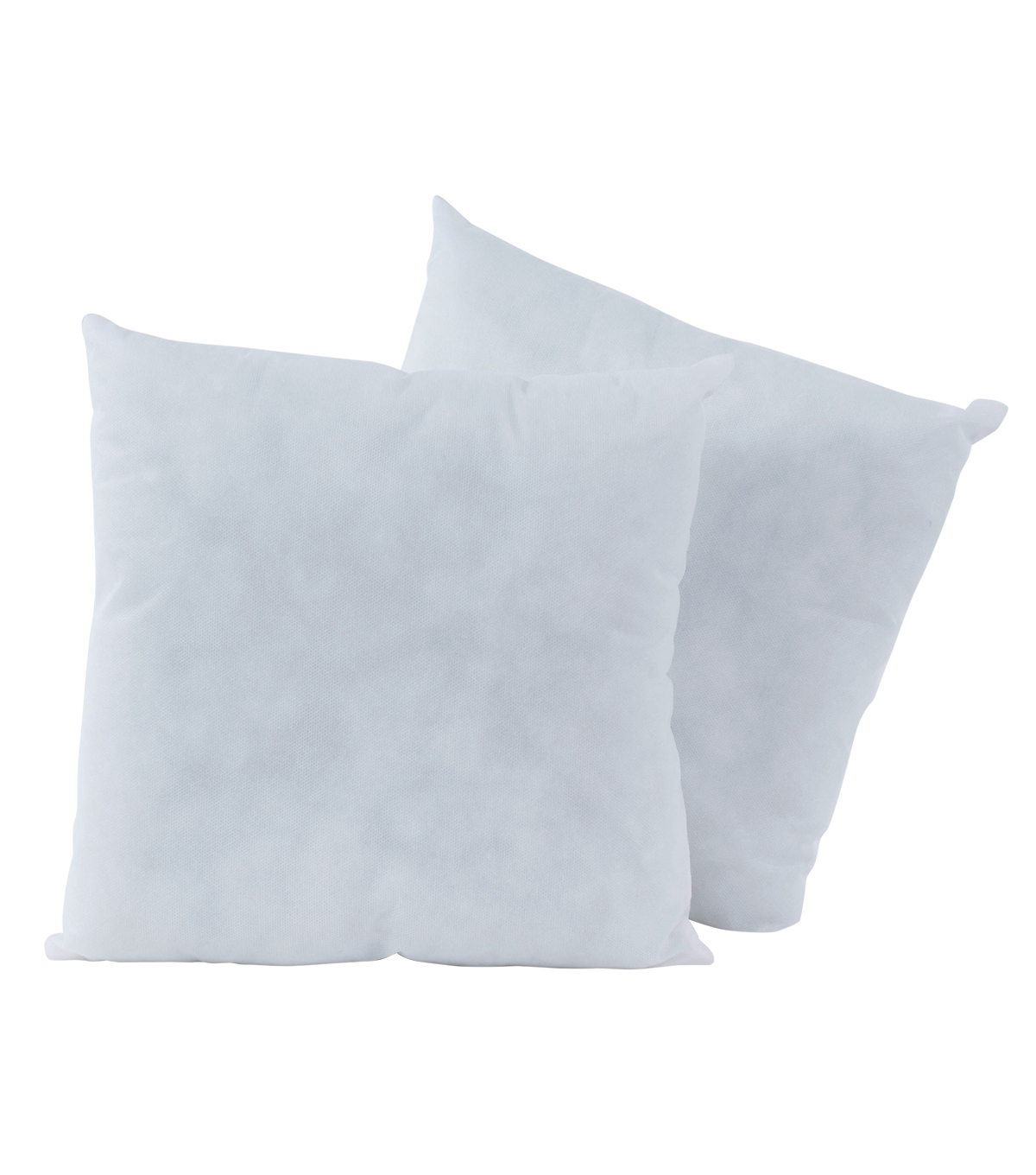 poly fil basic decorative pillow insert 16 x16 pack of 2