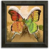 Personal-Prints Butterflies Framed Canvas Wall Art ...