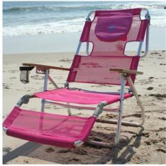 Pink Beach Chair Potty Chairs Deltess Corp 3n1 1001p Ostrich 3 In 1 Lounger Pack Of Walmart Com