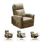 Power Lift Recliners For Elderly Electric Recliner For Elderly Heavy Duty Lift Chairs Recliners 300 Lb Capacity Faux Leather Recliner Chair Chaise Lounge For Living Room 35 4 X33 1 X41 3 Q5722 Walmart Com Walmart Com