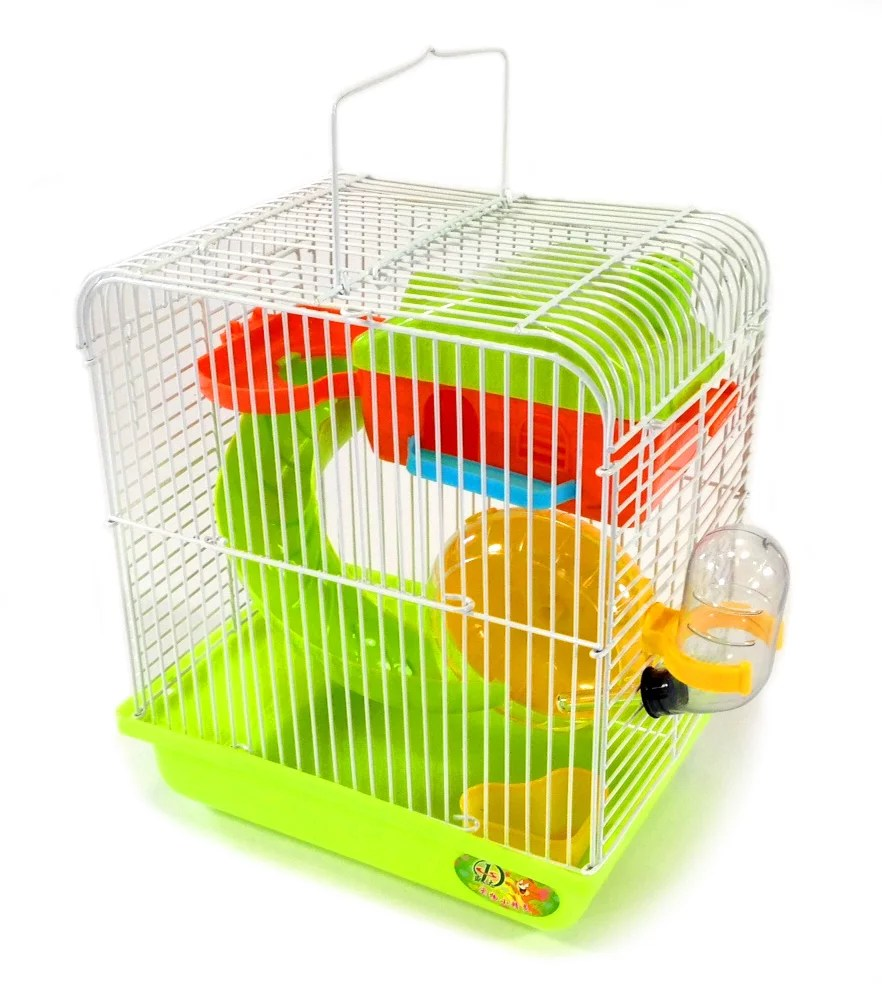 Hamster Small Rodent Cage Habitat Playhouse Gerbil Mouse ...