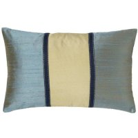 Jiti Pillows Pieces Decorative Pillow in Aqua and Sage ...
