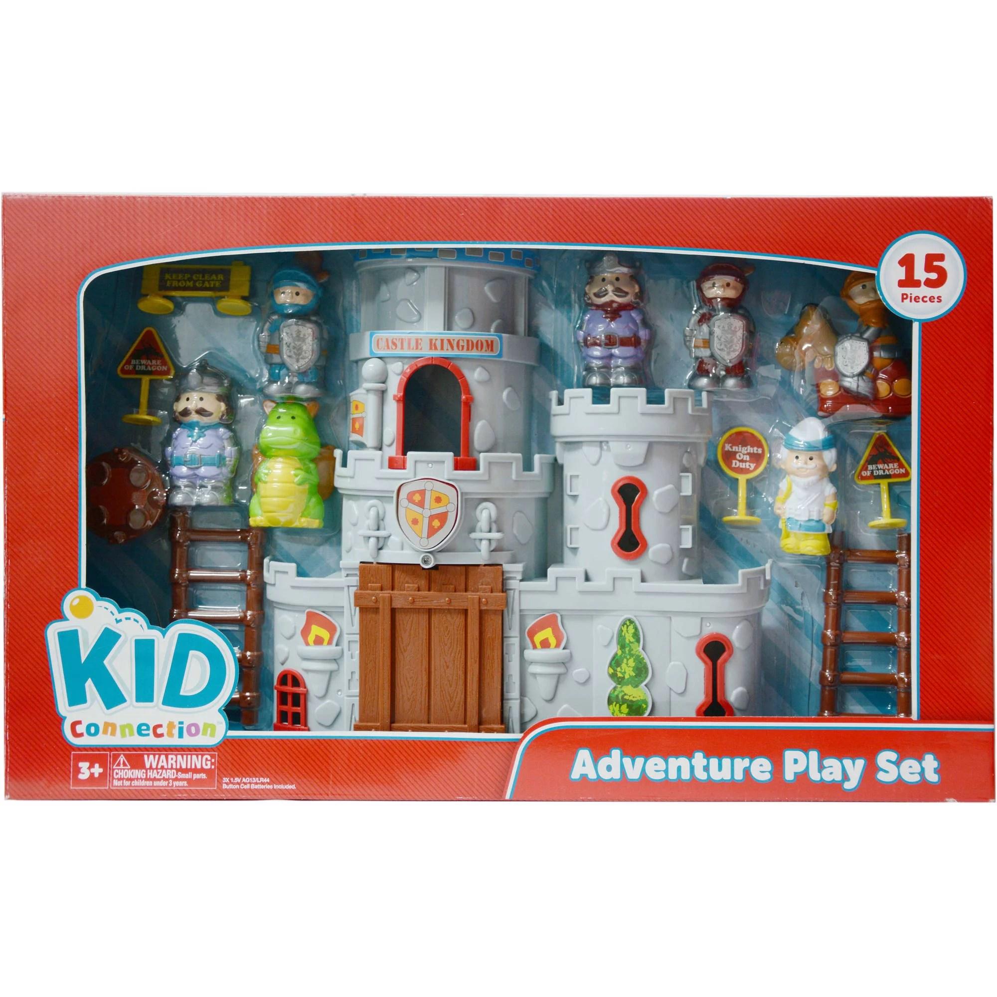 Kid Connection Castle Play Set Walmart