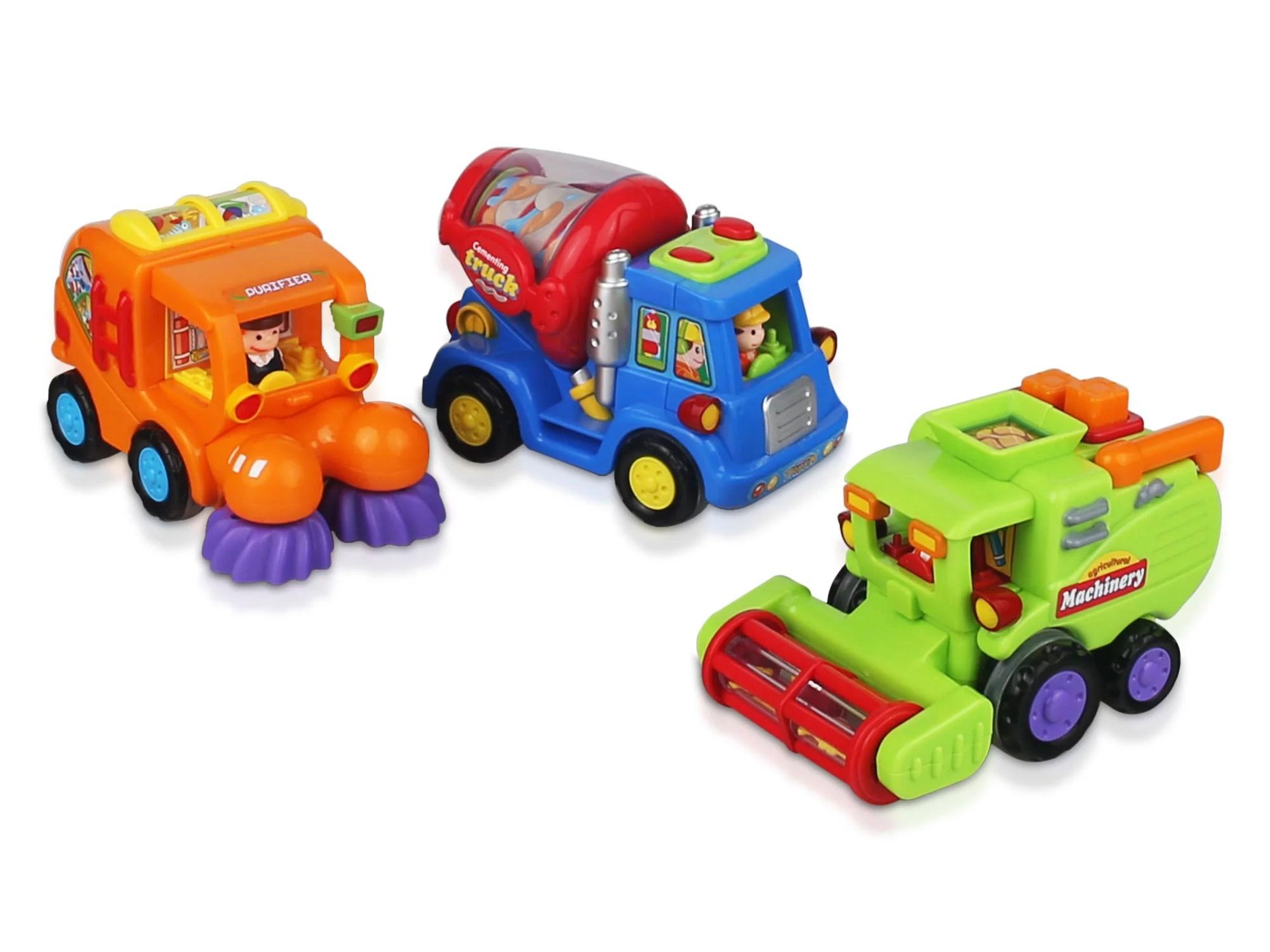 Ciftoys Friction Powered Push And Go Car Toys For Boys