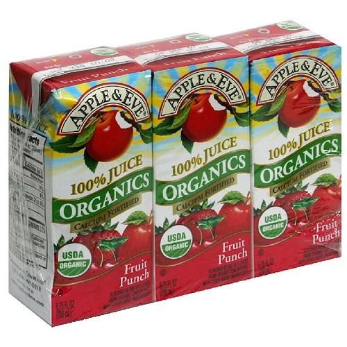 Apple Eve Organics Fruit Punch Juice 675 fl oz 3ct