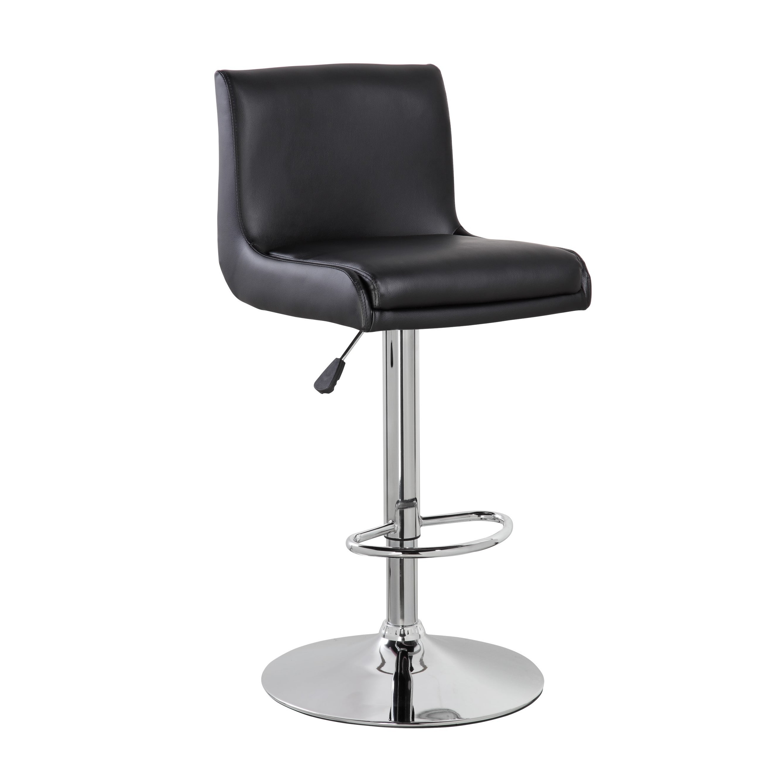 united chair medical stool ll bean all weather adirondack office chrome and faux leather airlift
