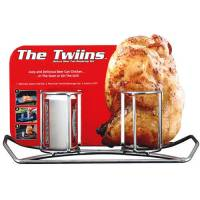 Camp Chef Double Beer Can Chicken Holder - Walmart.com