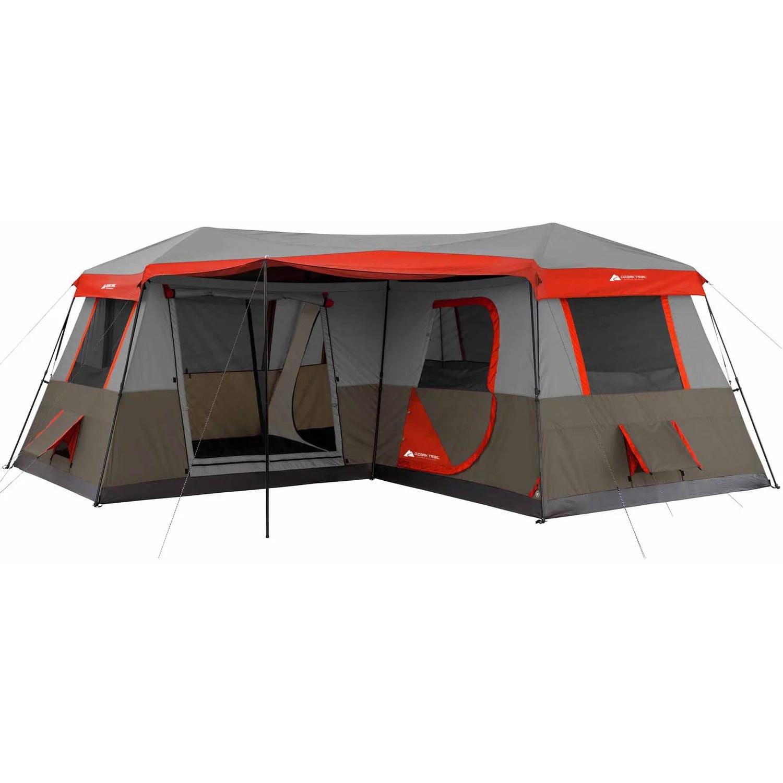 ozark trail 16 x 16 instant cabin tent sleeps 12 walmart com
