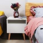 Jaxpety Nightstand Bedside Table Sofa End Table Bedroom Decor 1 Drawer Storage White Walmart Com Walmart Com