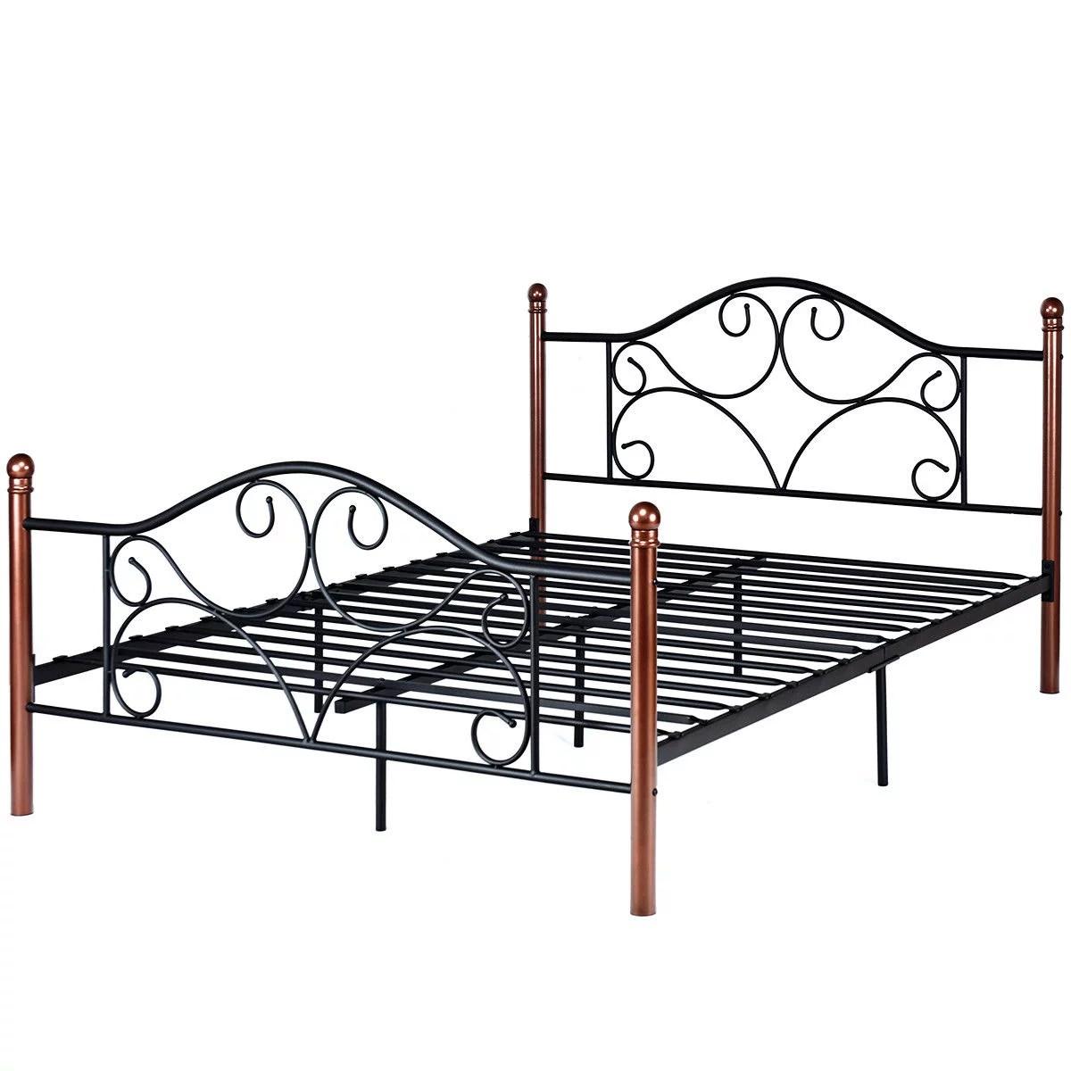 Metal Frame Beds Queen Size