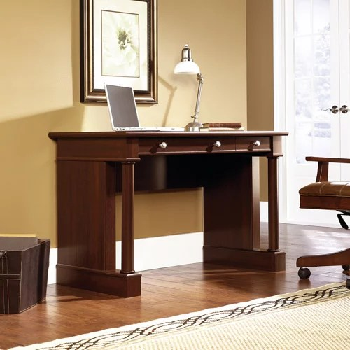 Sauder Palladia Writing Desk in Select Cherry Finish