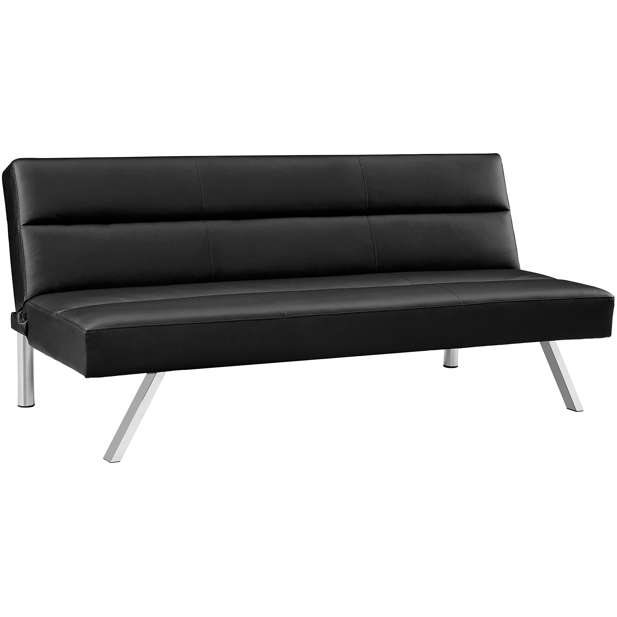 mainstays sofa sleeper with memory foam house beautiful leather sofas walmart black futon  home decor