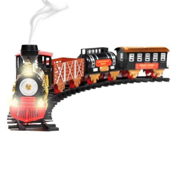 Ready Run Holiday Toy Train Track Set