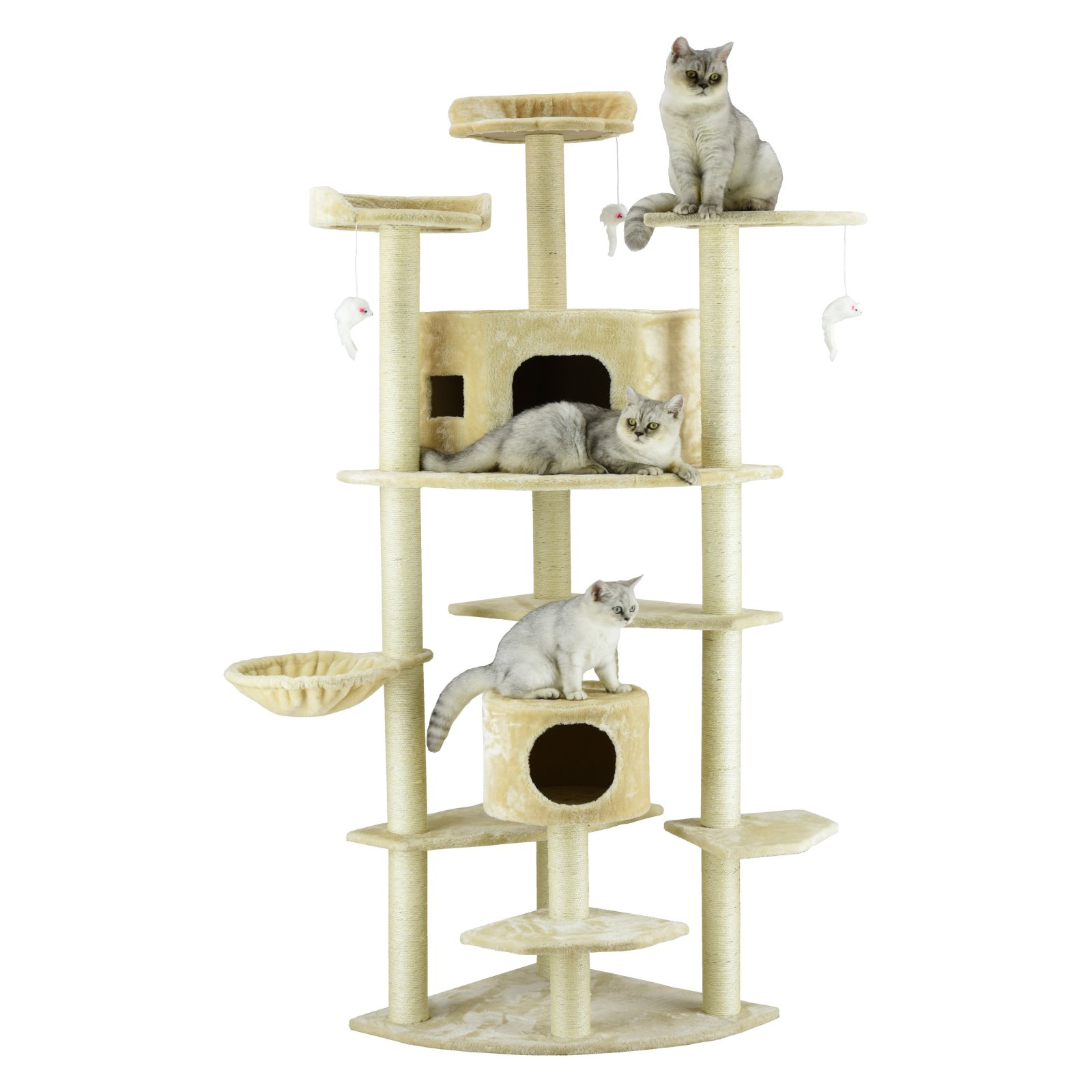 Go Pet Club 80 In Multi Level Large Cat Tree