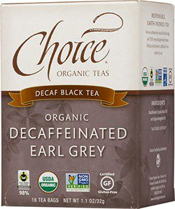 Earl Grey No Caffeine Tea-Organic Choice Organic Teas 16 ...
