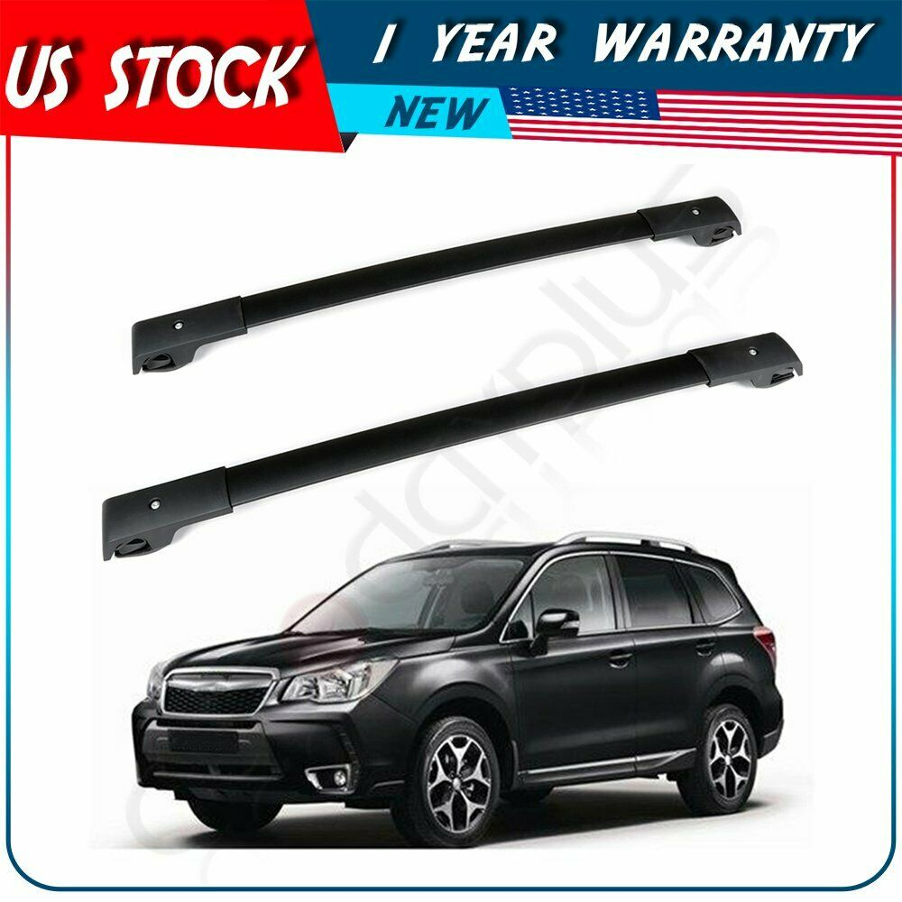 for 2009 2010 2001 2002 2003 subaru forester oe style roof rack cross bars set luggage carrier walmart com