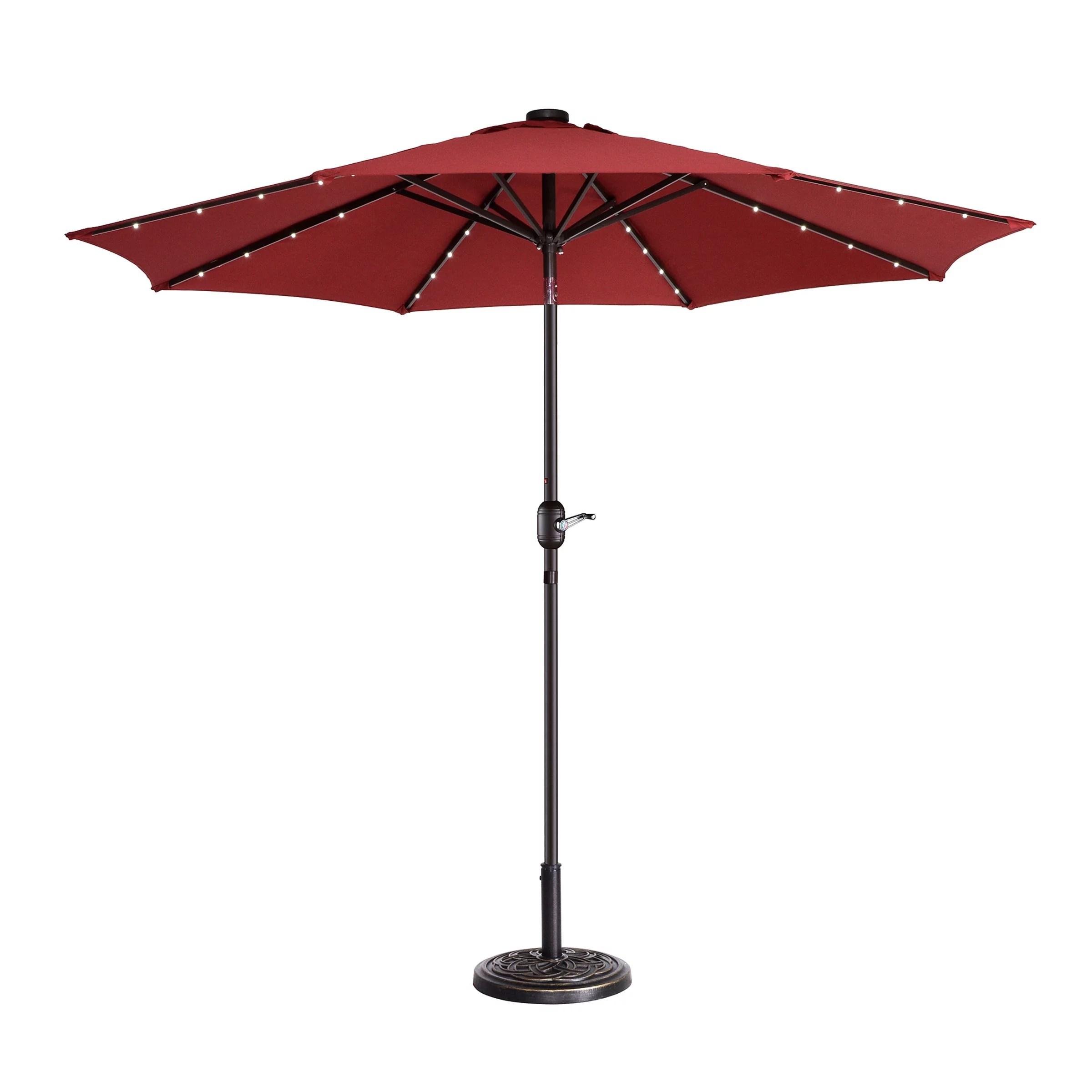 solar umbrellas red walmart com