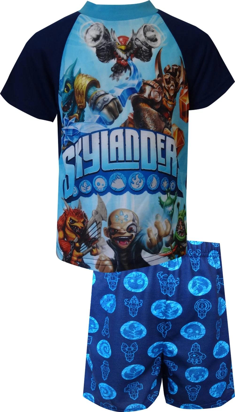 ame sleepwear skylanders character