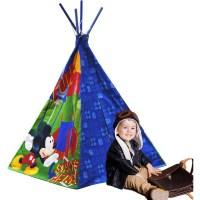 Disney Mickey Mouse Teepee Play Tent - Walmart.com