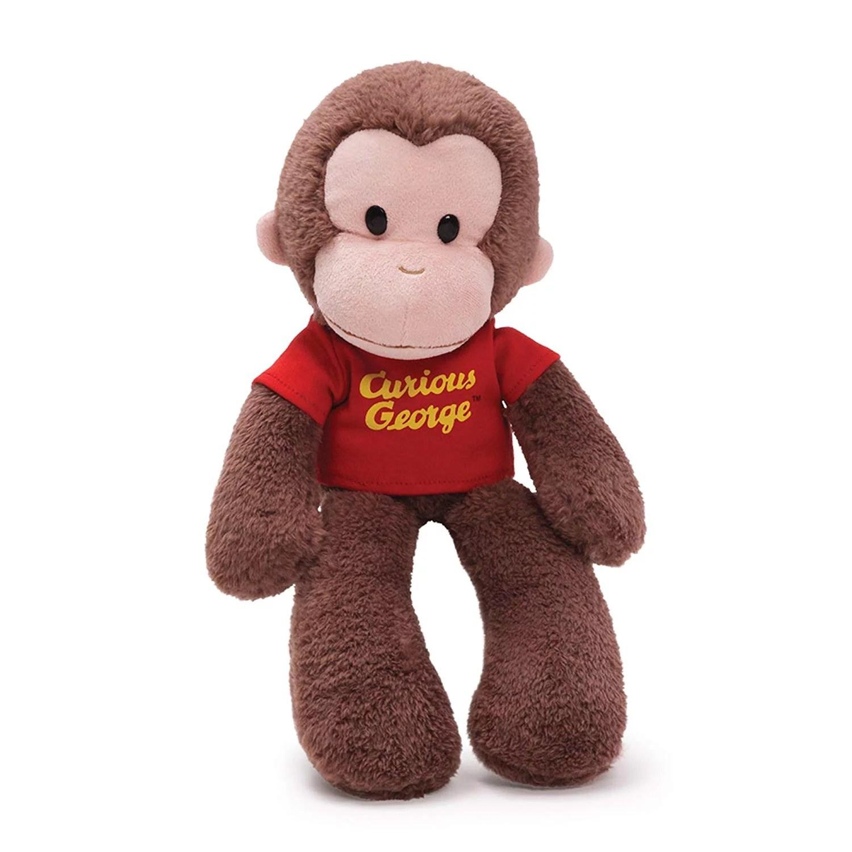 Curious George Take Along Monkey Stuffed Animal Plush 15