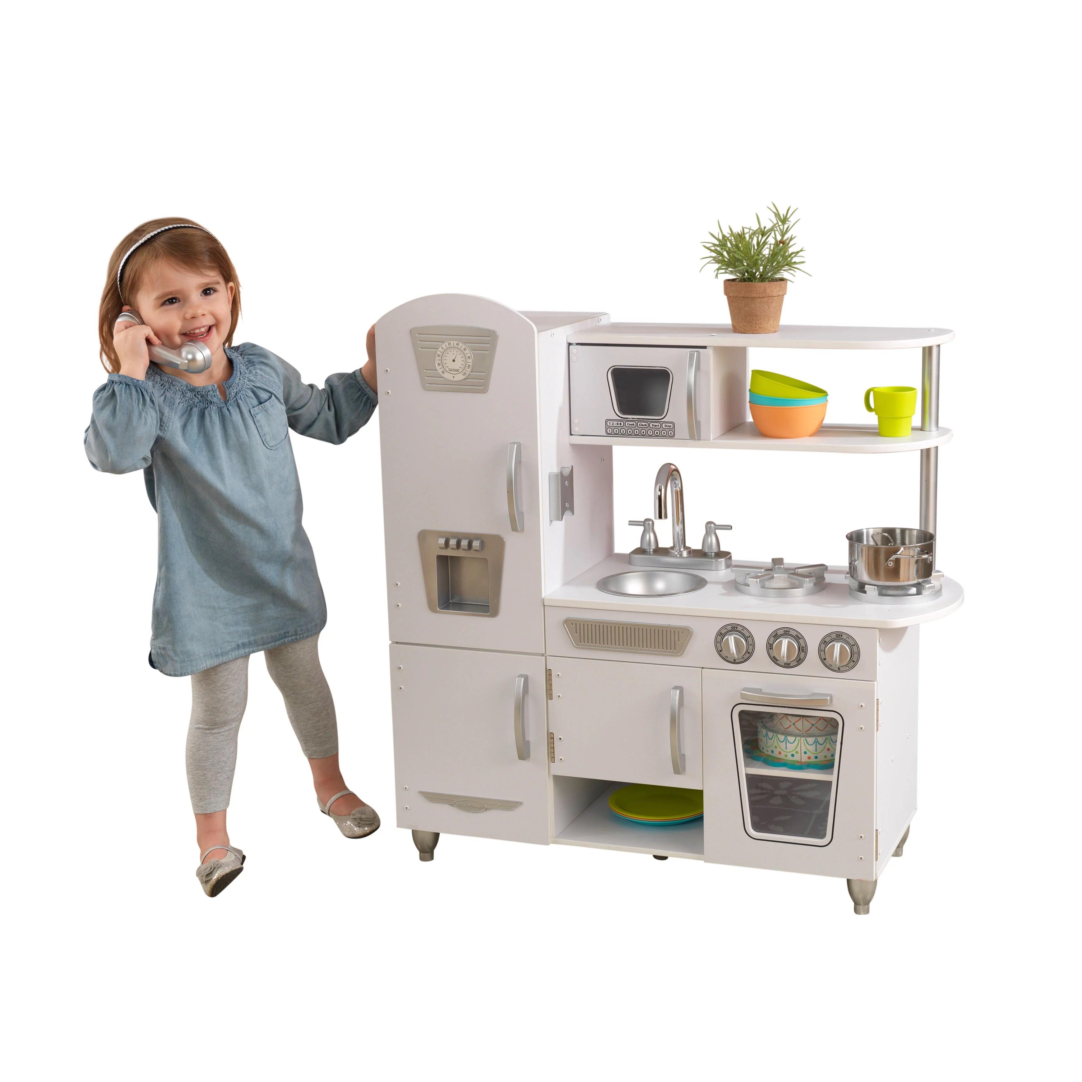 kid craft kitchen ikea chair kidkraft vintage play white walmart com