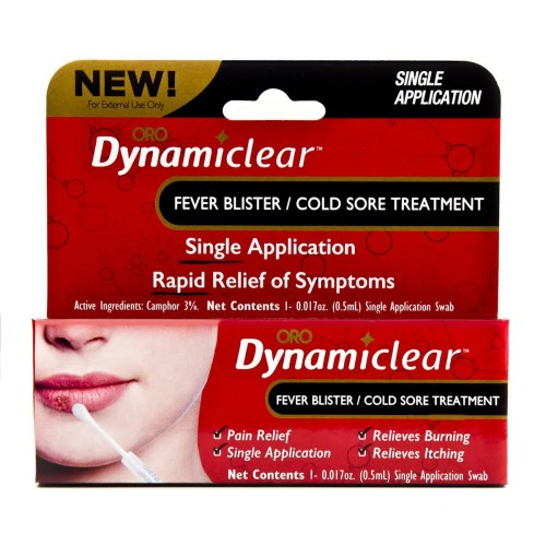 small resolution of cold sore fever blister single use treatment by dynamiclear for rapid relief of herpes outbreak cold sores and fever bliters walmart com