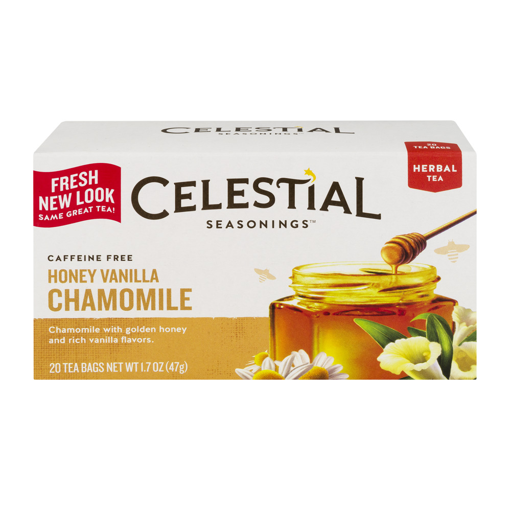 Celestial Tea Honey Vanilla Chamomile 20 CT Walmartcom