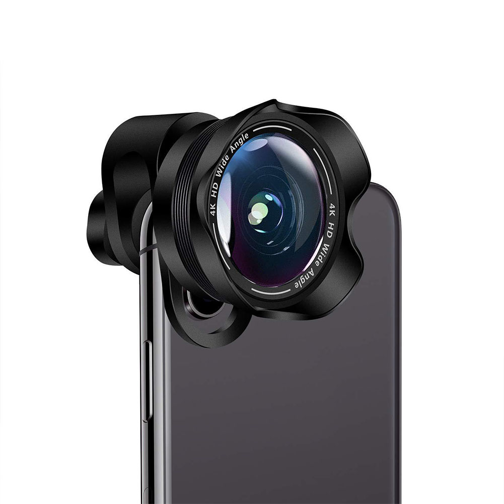 2 in 1 Cell Phone Camera Lens Aspherical Wide Angle Super Macro Lens Clip-On Phone Camera Lenses for iPhone Samsung Most Andriod Phones - Walmart ...