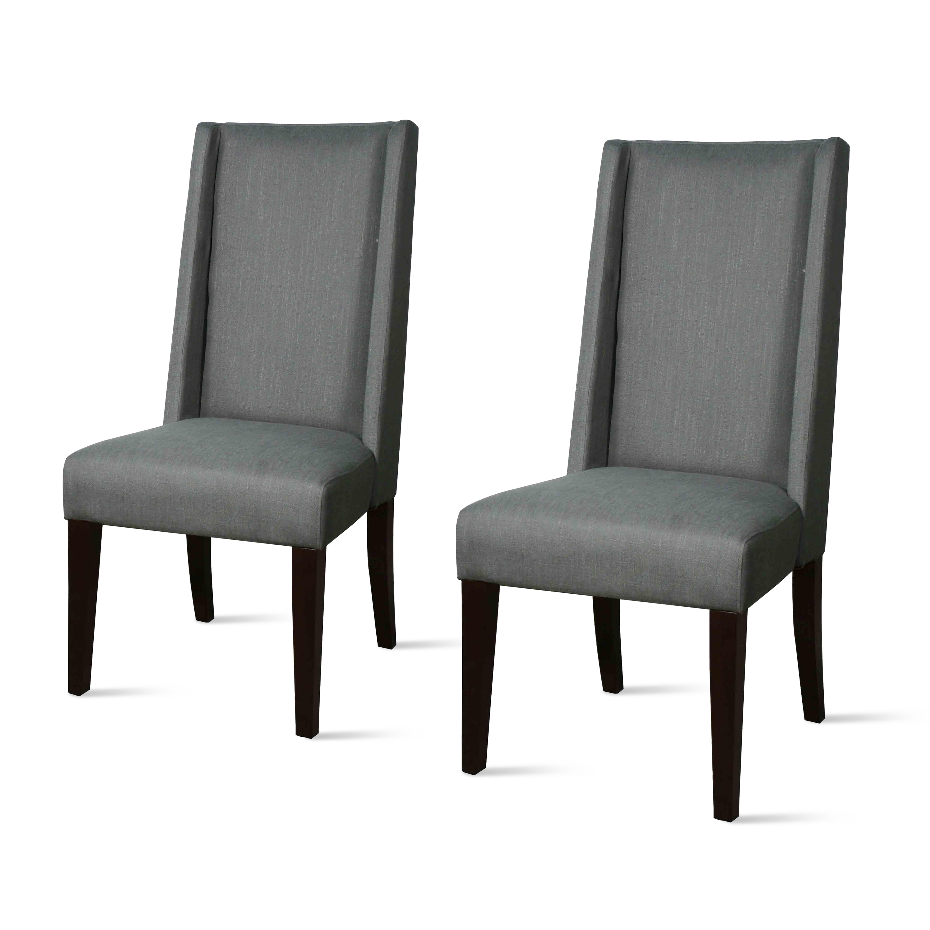 tall back dining chairs hightop table and lucas chair set of 2 multiple colors walmart com