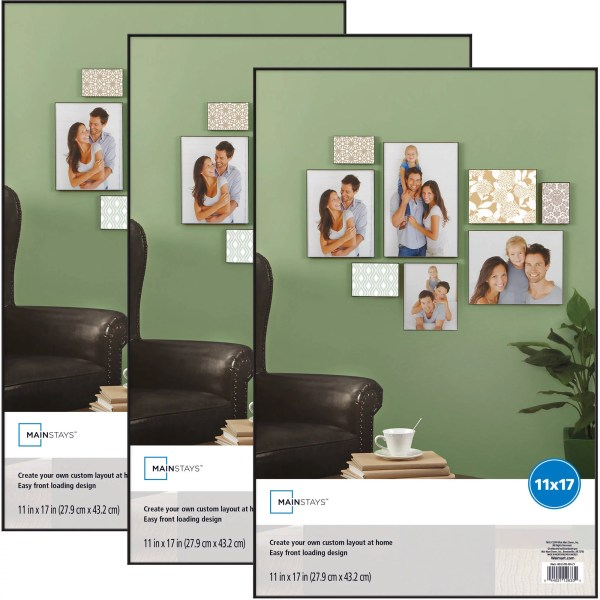 Mainstays 11x17 Format Frame Set Of 3