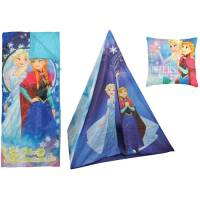 Disney Frozen Teepee Play Tent and Slumber Bag with Bonus ...