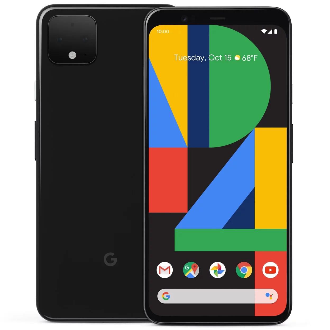 Google Pixel 4 XL 64GB Just Black (Unlocked) Refurbished Grade B