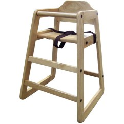 Restaurant Style High Chair Teak Rocking Ore International 29 Toddler Highchair Walmart Com