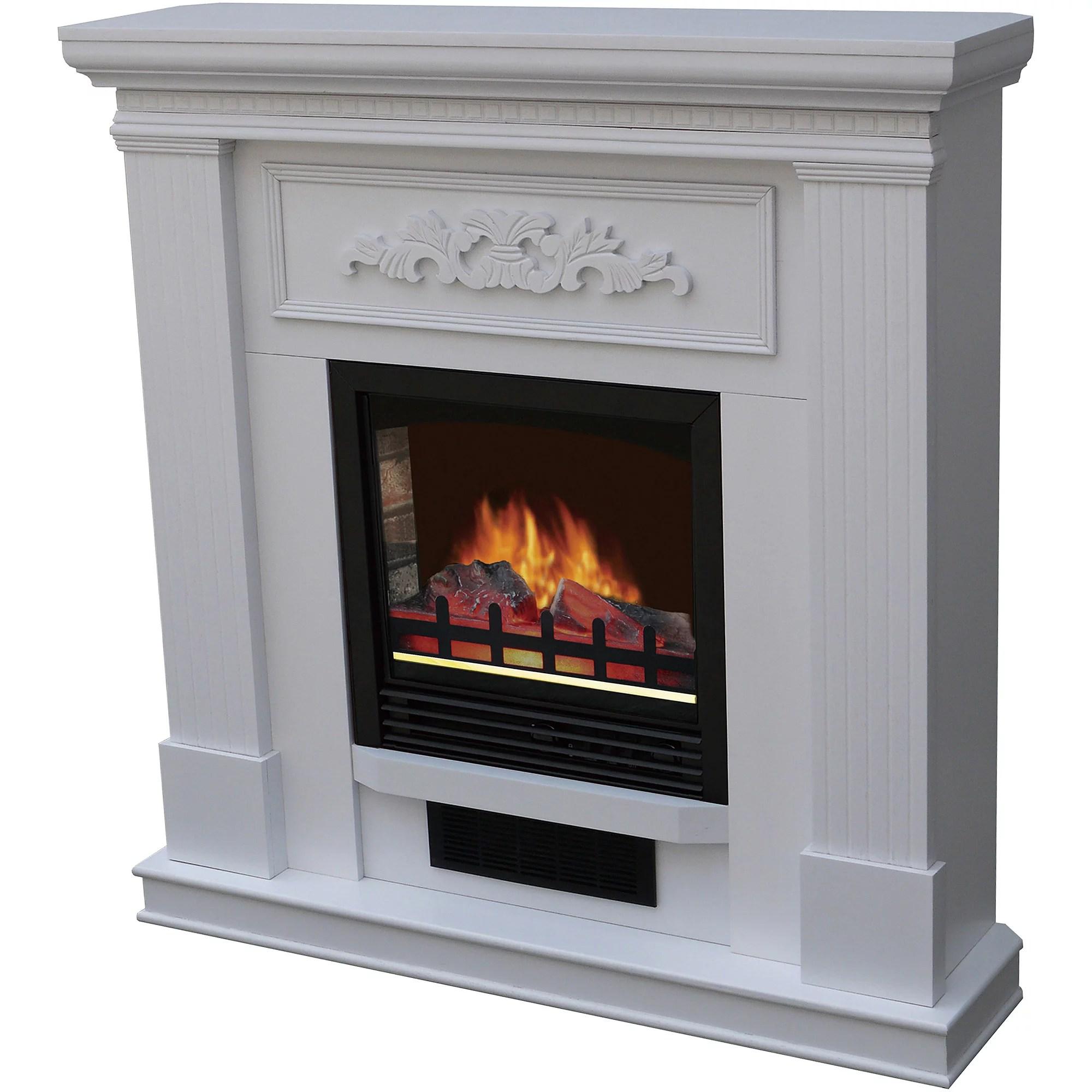 Decor Flame 35 Wall Mounted Fireplace