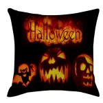 Toyfunny Halloween Pumpkin Pillow Cover Pillowcases Decorative Sofa Cushion Cover Walmart Com Walmart Com
