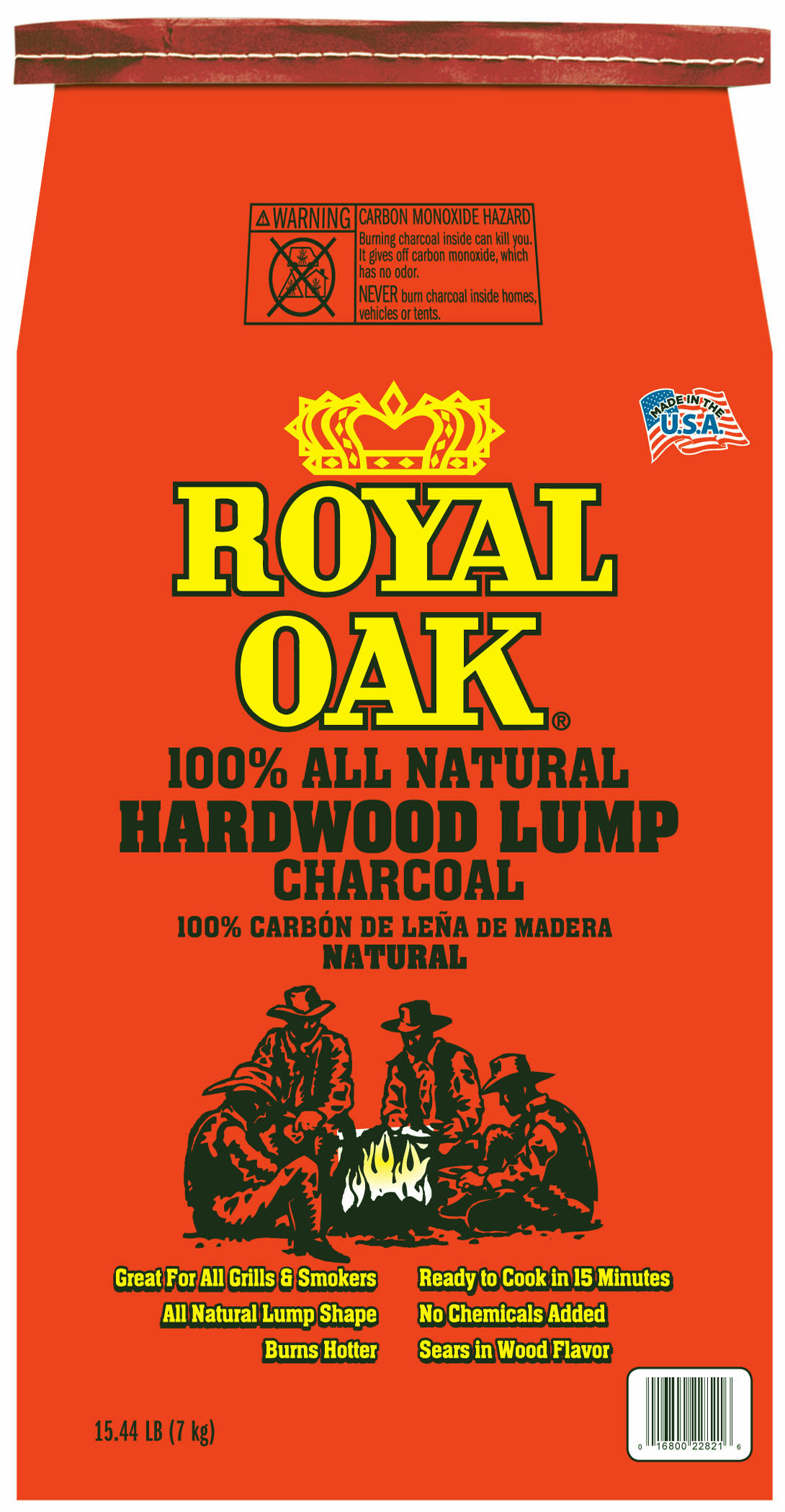 Royal Oak All Natural Hardwood Lump Charcoal 1544LB