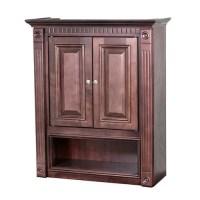 GHI Cherry Bathroom Wall Cabinet - Walmart.com