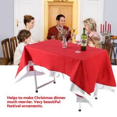 Party Chair Covers Walmart Solid Oak Rocking Hilitand Red Table Cloth Cover Ornaments For Christmas Household Festival Decor Com