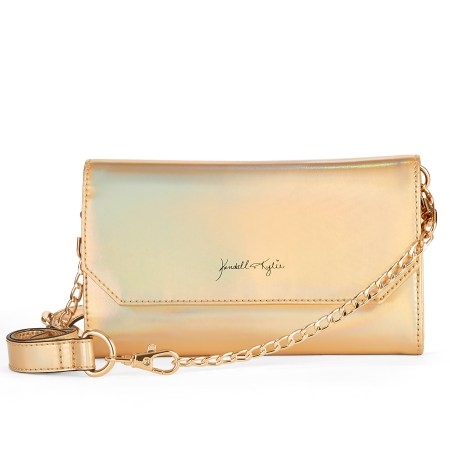 Kendall + Kylie for Walmart Gold Faux Leather Belt Bag/Crossbody