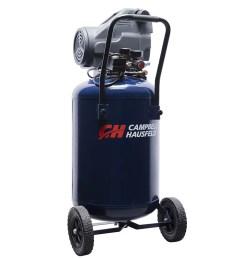 campbell hausfeld dc200100 20 gallon 1 3 hp oil free air compressor walmart com [ 1000 x 1000 Pixel ]