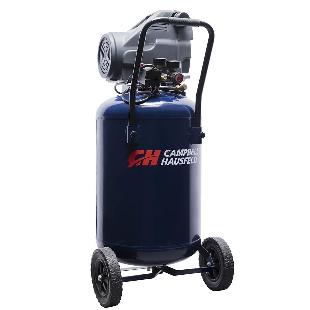 medium resolution of campbell hausfeld dc200100 20 gallon 1 3 hp oil free air compressor walmart com