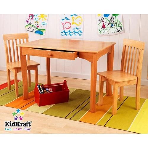 kidkraft avalon chair office cheap table and set honey walmart com
